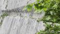 Originalité du passage à même la falaise