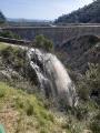 ouverture des vannes du canal d'irrigation
