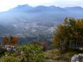 Panorama depuis le sommet du Mont Penney