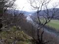 Panorama depuis les roches du bois de Gevrey