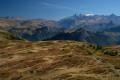 Panorama sur l'Oisans depuis le Pas de l'Envious