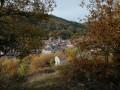 Panorama sur le village de Blesle
