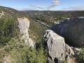 Panorama sur les gorges de l'Ardèche