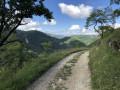 Panorama sur une vallée attenante au village
