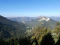 Panorama vers le Roc de Plate Cuche