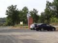 """Parking au départ du circuit Randonner Autrement """"Le trésor du Petit Peuple à Fox-Amphoux"""""""