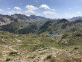 Paso Tesina - Descente vers le Lac de Sainte Anne et le Sanctuaire