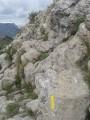 Passage dans les rochers