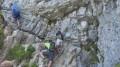 Passage des premières barres rocheuses