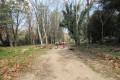 Passage devant la maison forestière