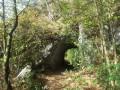 Passage du rocher perçé