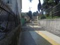 passage avec escaliers