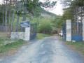 Passage pour prendre la piste menant au col du Renard