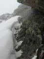Passage rocheux final (conditions enneigées)