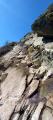 Passage rocheux final (conditions estivales)