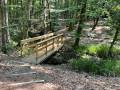 Passerelle en bois en parcelle 1088