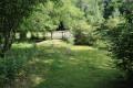 Passerelle en bois sur la Berlande