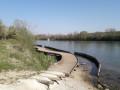 Passerelle en rive de Seine
