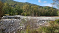 Passerelle sur l'Ardèche