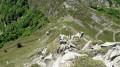 Monte Gomito et Balzi della Fariola.