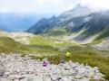 Pause au Col d'Arpingpn
