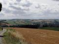 Paysage de Montaut et de la vallée de la Lèze