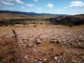 Mont Gargo depuis le Veygalier dans le Causse Méjean