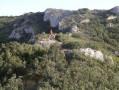 Le Cuou de Peyrou et la bergerie de Mont Trésor