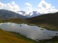 Petit lac sous le Col de la Petite Cayolle