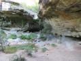 Petit passage dans la grotte fermée