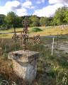 Petite croix de fer ouvragée ...