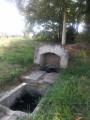 Petite pause à la Fontaine Saint Thibault