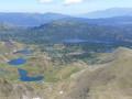 Le lac des Bouillouses vu du Carlit