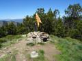 Le Pic de Tres Estelles depuis Escaro