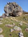 Le Mondarrain depuis le village d'Itxassou, retour par le Col d'Atharri