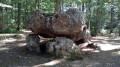 Le Dolmen de la Pierre Courcoulée en Forêt d'Évreux