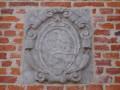 Pierre située sur le mur de la mairie de Maroilles (ancien Baillage)