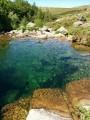 Piscine naturelle le long du Tarn