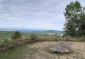 Place de pique-nique Le Chetelat au-dessus falaise