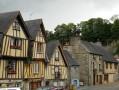 Place du Marchix : les maisons du Moyen-Âge