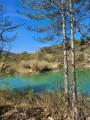 De la Cèze au plan d'eau de Lerou