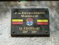 Plaque du momument des excursionnistes marseillais