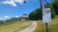 Sur les pentes de la station de Aillons-Margeriaz 1000