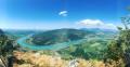 Point de vue depuis le Belvédère de Recorba