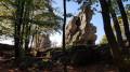 Point de vue près des rochers