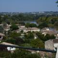 Point de vue sur le fleuve au-dessus de Cabara