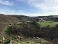 Point de vue sur le village de Cure