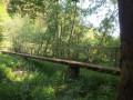 Routes de campagne et chemins forestiers à Villance