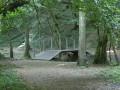 Pont de bois sur le Loudon