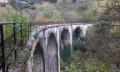 Pont de chemin de fer dit viaduc du Nans